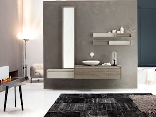 Mastella Design Modern bathroom MDF Brown