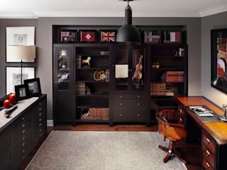 Eclectic style study/office by ANNA DUVAL Eclectic