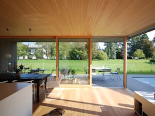 schroetter-lenzi Architekten Phòng ăn phong cách hiện đại Gỗ