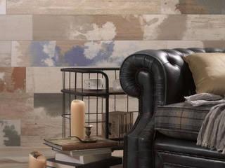 Płytki drewnopodobne Peronda Seawood Cruiser: styl , w kategorii Salon zaprojektowany przez Kolory Meksyku