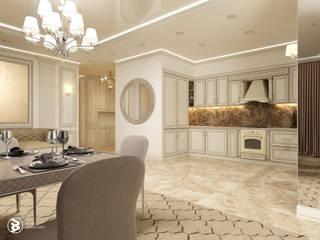 Квартира в ЖК Парус: Гостиная в . Автор – 27Unit design buro