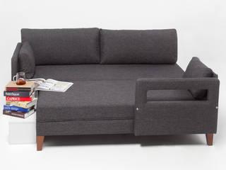 Comfort Yaşam Serisi Köşe Koltuk K105 Mobilya Pazarlama Danışmanlık San.İç ve Dış Tic.LTD.ŞTİ. Ofis Alanları & Mağazalar Ahşap Gri