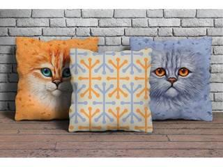 Bakan Tekstil – 3'lü dekoratif yastık seti:  tarz