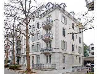 Jugendstil Mehrfamilienhaus Zürich-Seefeld:  Häuser von Fastarch Architekturbüro eth/sia