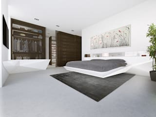 PENTHOUSE 23 Modern style bedroom by Who Cares?! Design Modern