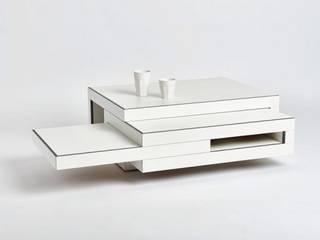 REK salontafel (wit) van Reinier de Jong Design Minimalistisch