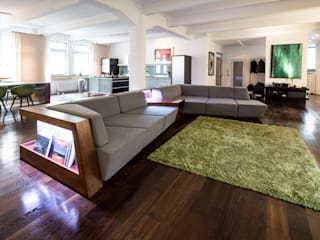 DIVANO DI ALFONSO Modern living room by Who Cares?! Design Modern