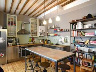 Cocinas de estilo industrial de Gembu Interior Design Industrial