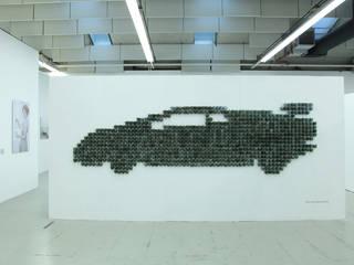 cupcar Lamborghini van Bram van Leeuwenstein Industrieel