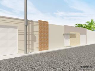 Residencia Unifamiliar Casas de estilo mediterráneo de Arte 5 Remodelaciones Mediterráneo