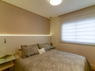 Modern Bedroom by RAFAEL SARDINHA ARQUITETURA E INTERIORES Modern