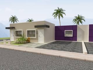Urbanismo y residencias unifamiliares Casas de estilo minimalista de Arte 5 Remodelaciones Minimalista