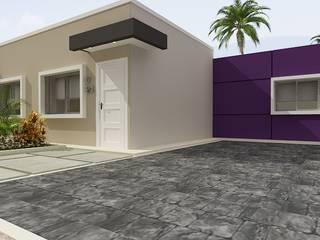 Fachada residencia Tipo 1 Imagénes virtuales Casas de estilo minimalista de Arte 5 Remodelaciones Minimalista