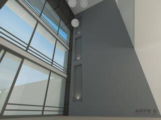 Imagenes Virtuales Edificios de oficinas de estilo minimalista de Arte 5 Remodelaciones Minimalista