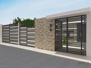 Diseño de fachadas e interior residencia unifamiliar Casas de estilo minimalista de Arte 5 Remodelaciones Minimalista