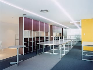 Modern Study Room and Home Office by hamanakadesignstudio Modern