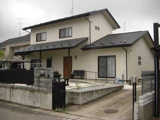 築45年の古いお住まいの全面リフォーム 日本家屋・アジアの家 の 羽鳥建築設計室 和風