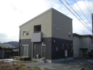 シンプルライフな施主さんのすまい 仙台市太白区F邸 モダンな 家 の 羽鳥建築設計室 モダン