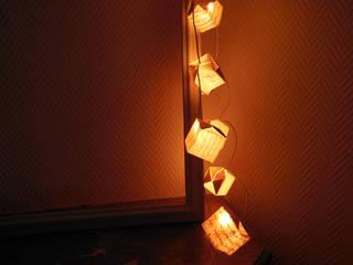 Guirlande lumineuse origami:  de style  par Du O du Grenier