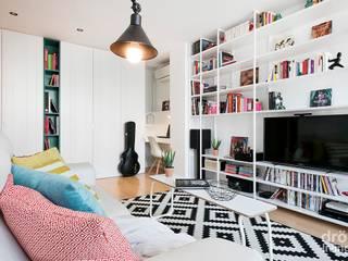Livings modernos: Ideas, imágenes y decoración de Dröm Living Moderno