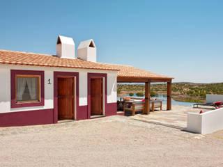 Casas de estilo rústico por SA&V - SAARANHA&VASCONCELOS