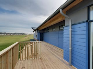 Bude Cricket Pavilion by Trewin Design Architects Modern