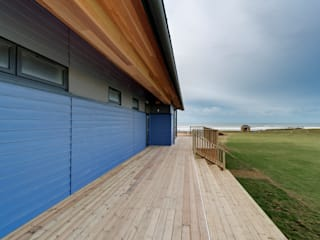 Bude Cricket Pavilion de Trewin Design Architects Moderno