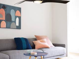 CASA BRUNO Artemis ventilador de diseño Ø 147 cm, acacia, con luz de Casa Bruno American Home Decor Moderno