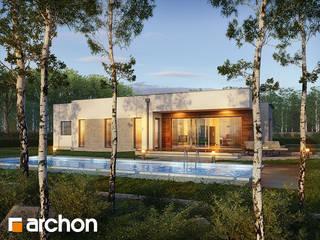 Projekt domu ARCHON+ Dom w parrocjach od ARCHON+ PROJEKTY DOMÓW