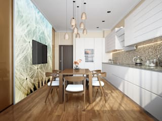 Minimalist kitchen by INTERIERIUM Minimalist