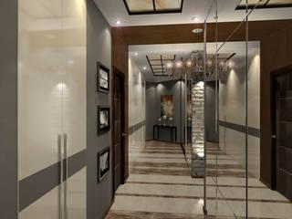 дизайн интерьра квартиры 120 кв.м.: Коридор и прихожая в . Автор – INTERIERIUM
