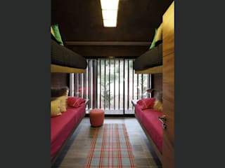 Minimalist nursery/kids room by homify Minimalist Concrete