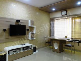UNIQUE DESIGNERS & ARCHITECTS Modern living room