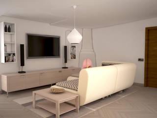 Salones de estilo  de Teresa Lamberti Architetto