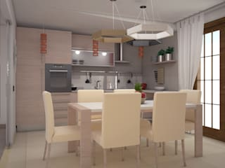 Cocinas de estilo  de Teresa Lamberti Architetto