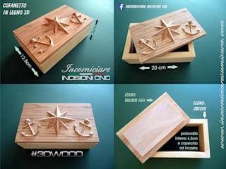 INCORNICIARE HouseholdAccessories & decoration Solid Wood Multicolored