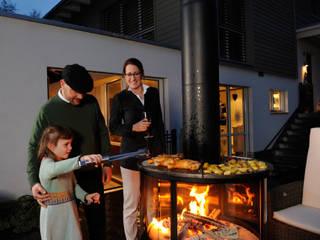 Rüegg Cheminée Schweiz AG Balconies, verandas & terraces Furniture Iron/Steel Black