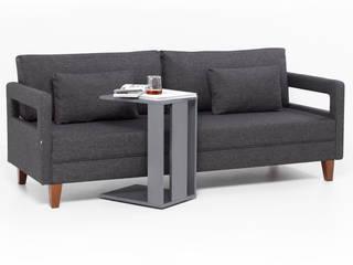 Comfort Yaşam Serisi Yataklı Kanepe K105 Mobilya Pazarlama Danışmanlık San.İç ve Dış Tic.LTD.ŞTİ. Oturma OdasıKanepe & Koltuklar Ahşap Gri