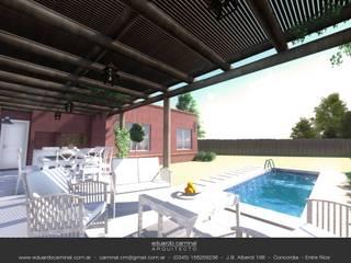 泳池 by Eduardo Caminal Arquitectura, 古典風