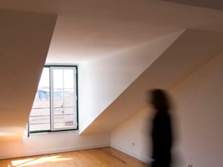 Apartamento Principe Real: Salas de estar  por Paula Margarido - A link to balance,Mediterrânico