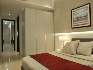 Shahajanand Arista Modern style bedroom by ARK Reza Kabul Architects Pvt. Ltd. Modern