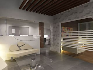 Bora Office: modern  by axii design consultant pvt.ltd.,Modern
