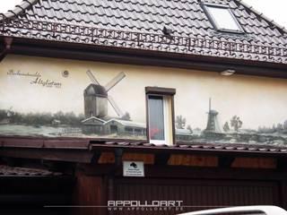 de Wandgestaltung Graffiti Airbrush von Appolloart Rústico
