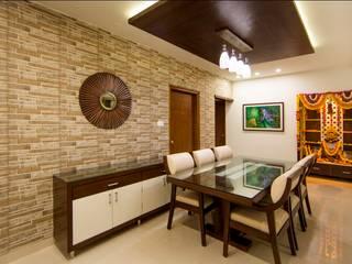 Lansum Greens Minimalist dining room by ARK Architects & Interior Designers Minimalist
