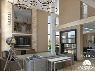 Интерьер в современном стиле Гостиная в стиле модерн от Antica Style Модерн