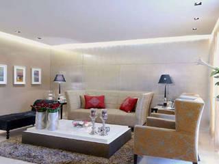 Living Area Designs:  Living room by ZED Associates Pvt. Ltd.