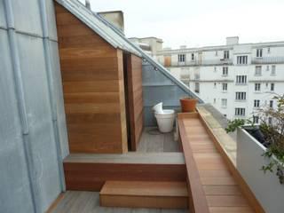 Scènes d'extérieur Modern terrace