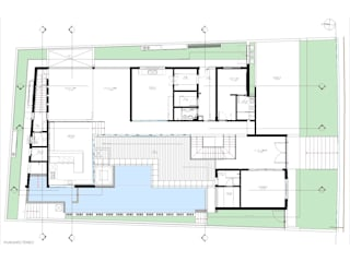 Residência ST:   por Sieg Arquitetura e Construção,Moderno