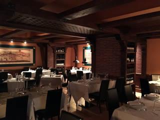 Rustic style gastronomy by LF24 Arquitectura Interiorismo Rustic