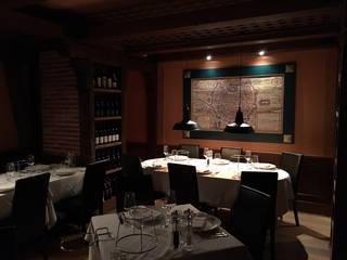 ラスティックなレストラン の LF24 Arquitectura Interiorismo ラスティック